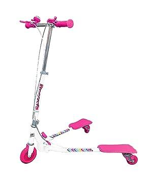 Ozbozz Scooter Scissor, Blanco/Rosa