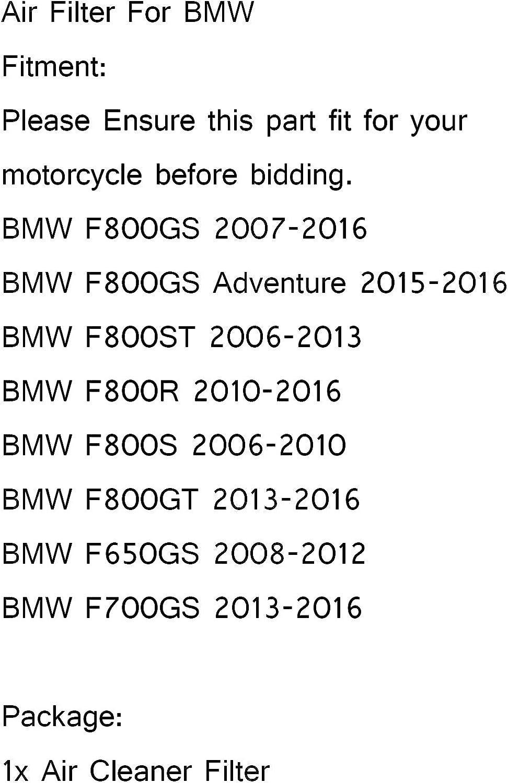 Artudatech Motorrad Luftfilter Moto Oem Kartusche Luftreiniger System Ersatz Lufteinlass Reiniger Für B M W F650gs F700gs F800gs F800gt F800st F800r Auto