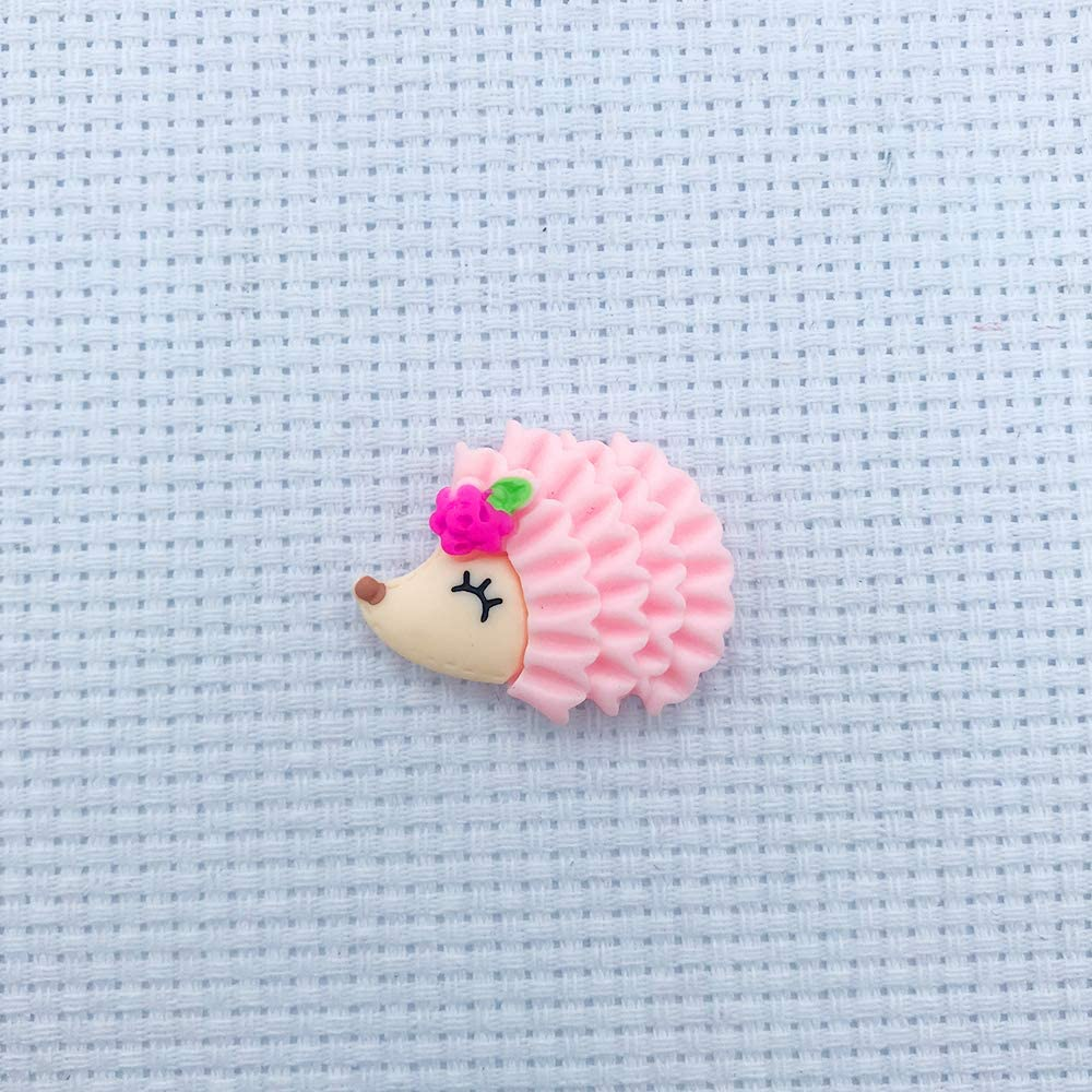 Sewing 5 Pieces Hedgehog Needle Minder Magnet for Cross Stitch Embroidery Needlework