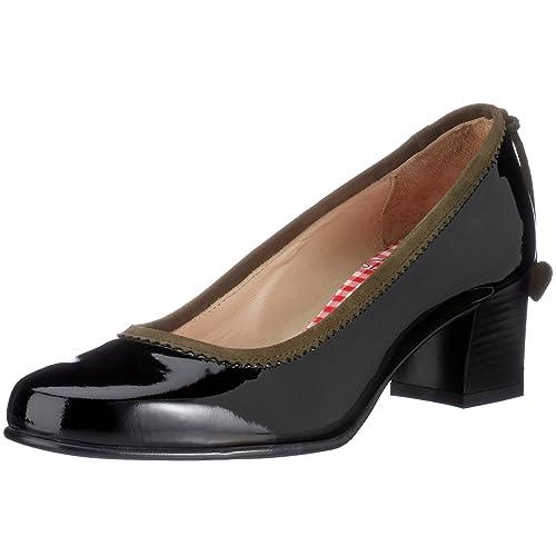 Diavolezza - Zapatos para mujer, color marrón, talla 36