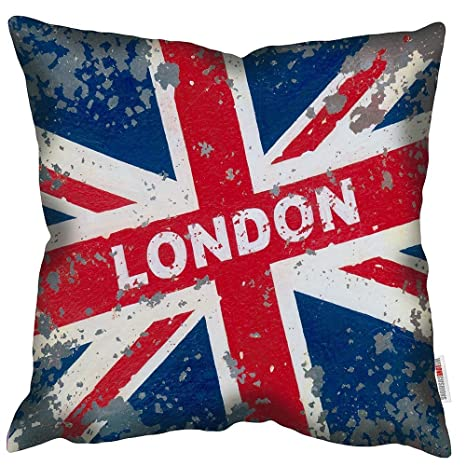 WELOVECUSHIONS Londres Unión Jack - Martin Wiscombe - Retro ...