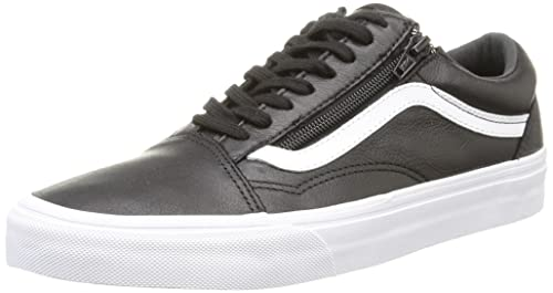 Basse Zip Sneaker Leather Skool U Old Unisex Vans Adulto wqEn6YtxxI