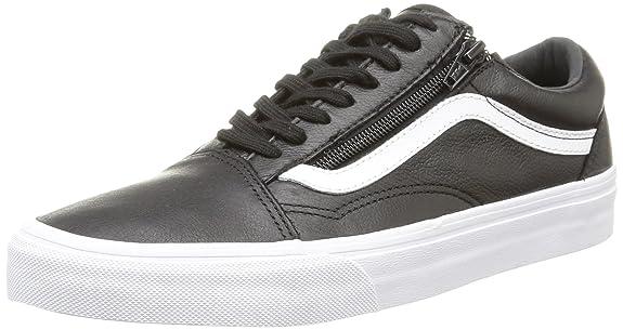 vans old skool zip black