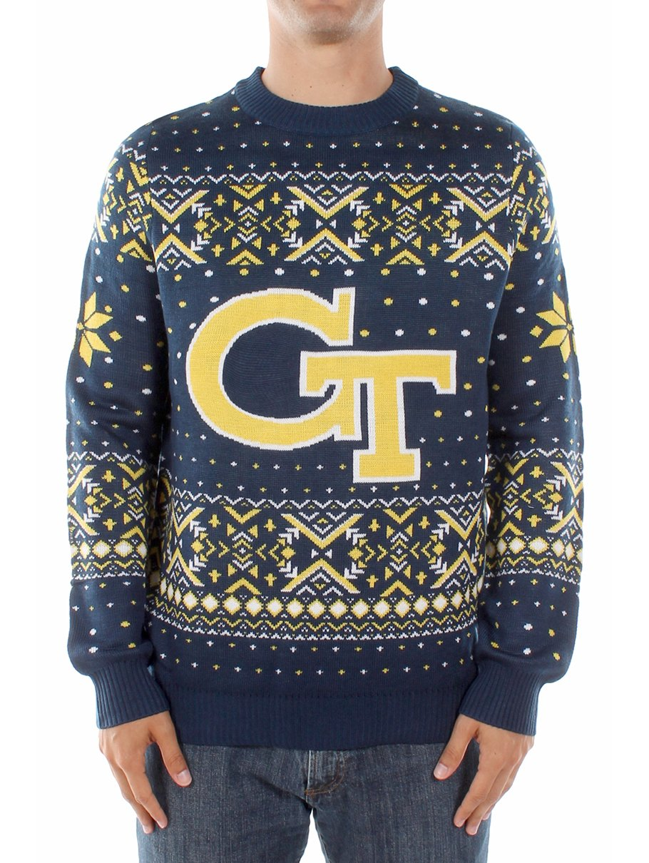 Amazon.com : Men\'s Georgia TeCh Sweater: XX-Large : Sports & Outdoors