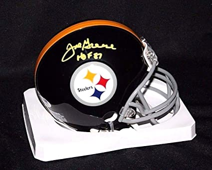 52d9c27e440 Image Unavailable. Image not available for. Color  Joe Greene Autographed  Signed Hof 87 Pittsburgh Steelers ...