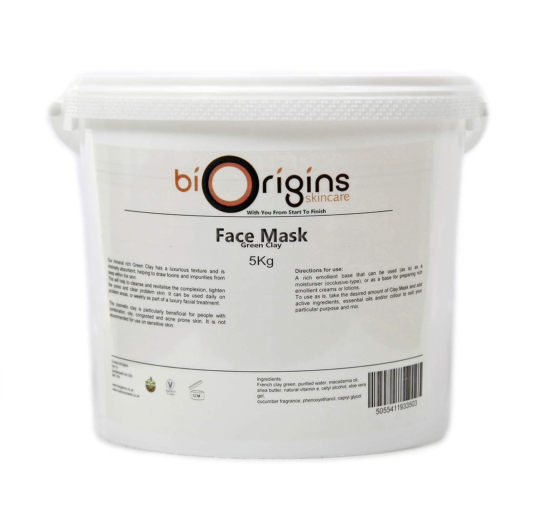 驚きの価格が実現! Face B011E951VI Mask - - Green Botanical Clay - Botanical Skincare Base - 5Kg B011E951VI, DAITO ONLINE SHOP:8e85a792 --- arianechie.dominiotemporario.com