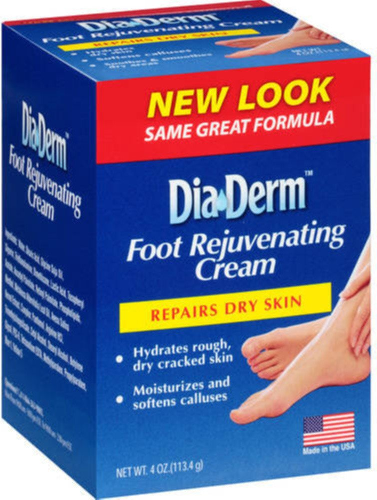 DiaDerm Foot Rejuvenating Cream 4 oz (Pack of 11)