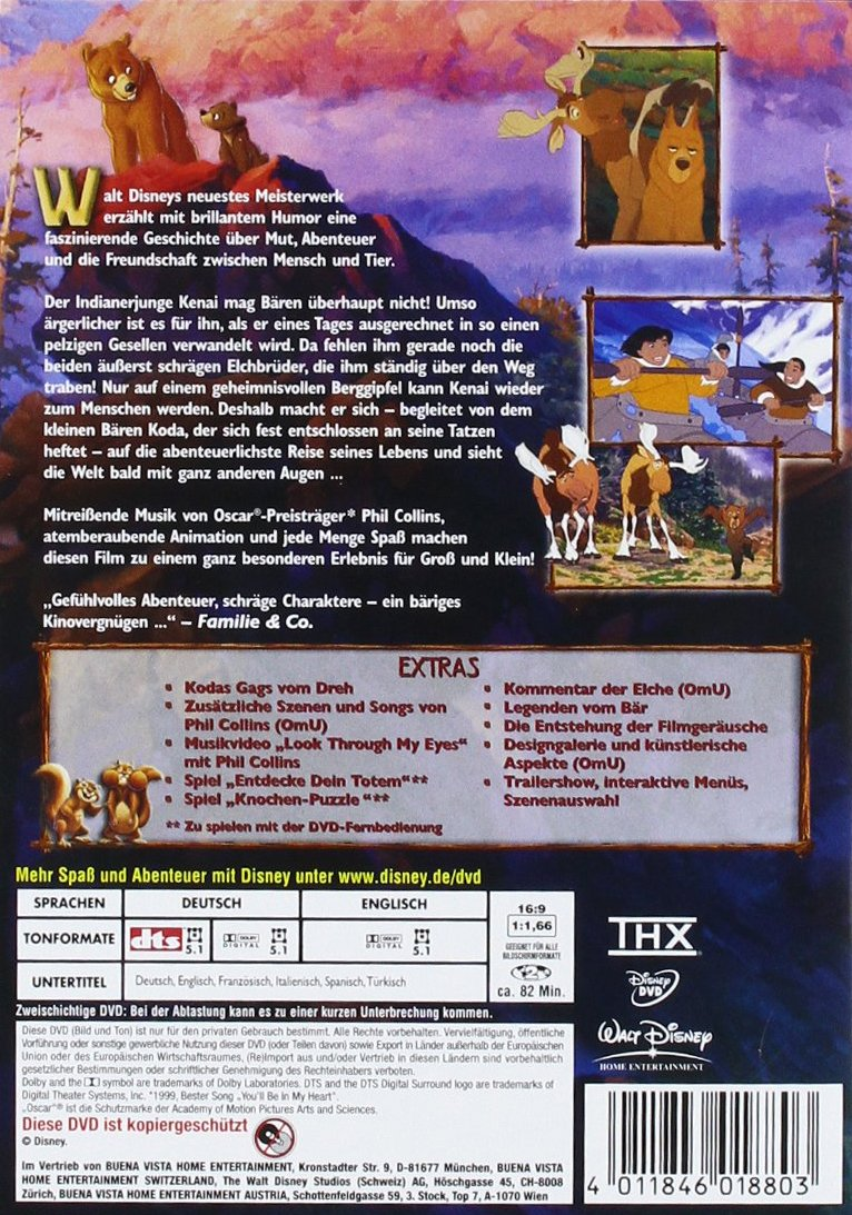 Bärenbrüder [Alemania] [DVD]: Amazon.es: Daniel Brühl, Mary ...