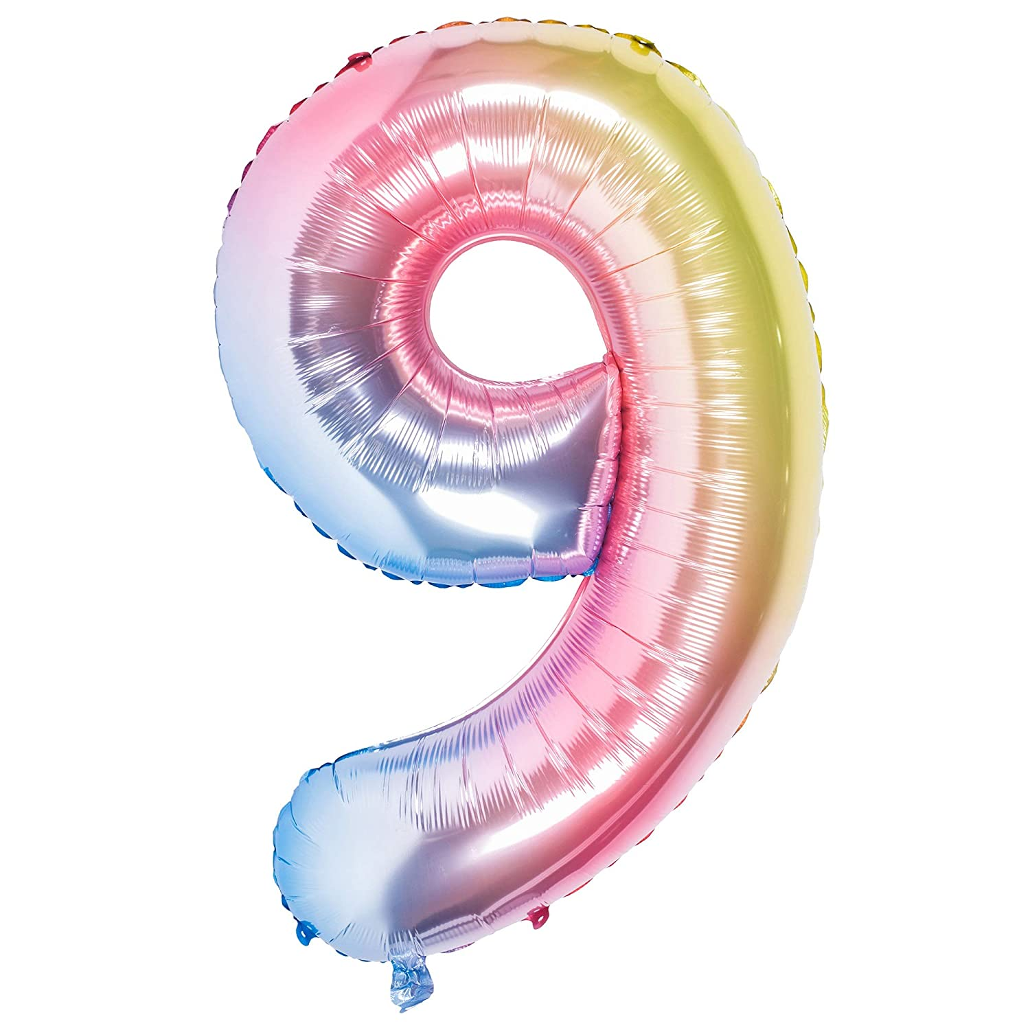 Number Balloons,42 Inch Birthday Number Balloon Party Decorations Supplies Helium Foil Mylar Digital Balloons