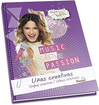 Violetta - Libro uñas Creativas (Simba 8691503): Amazon.es: Juguetes y juegos