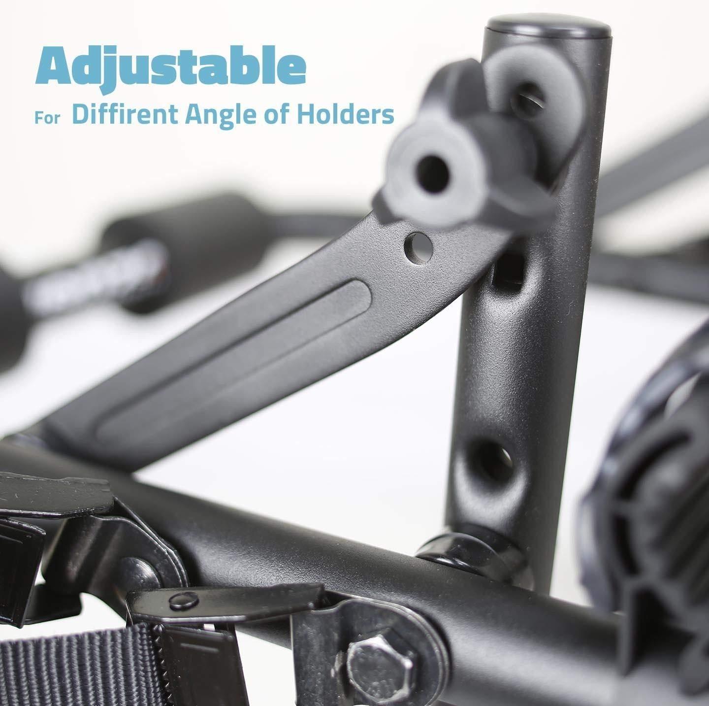 Venzo 3 Bike Car Universal Carrier Rack Bicycle Rear Racks or Bike Adaptor