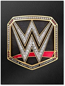 GRAPHICS & MORE WWE World Heavyweight Champion Title Logo Home Business Office Sign