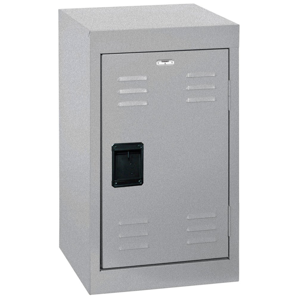 Sandusky Lee Kids Locker, LF1B151524-MG Single Tier Welded Steel Locker, 24''