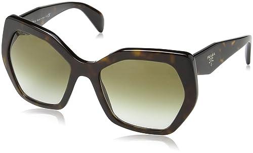 Amazon.com: Prada PR16RS - Gafas de sol para mujer, Marrón ...