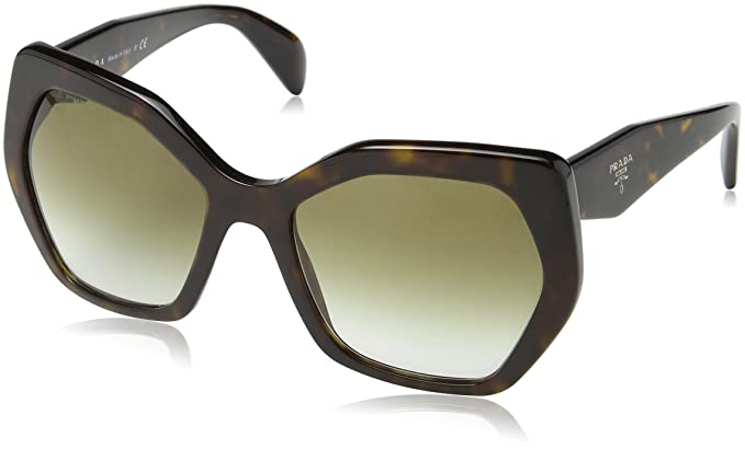 Prada Damen Mod.16RS Sonnenbrille, Black/Brown gradient