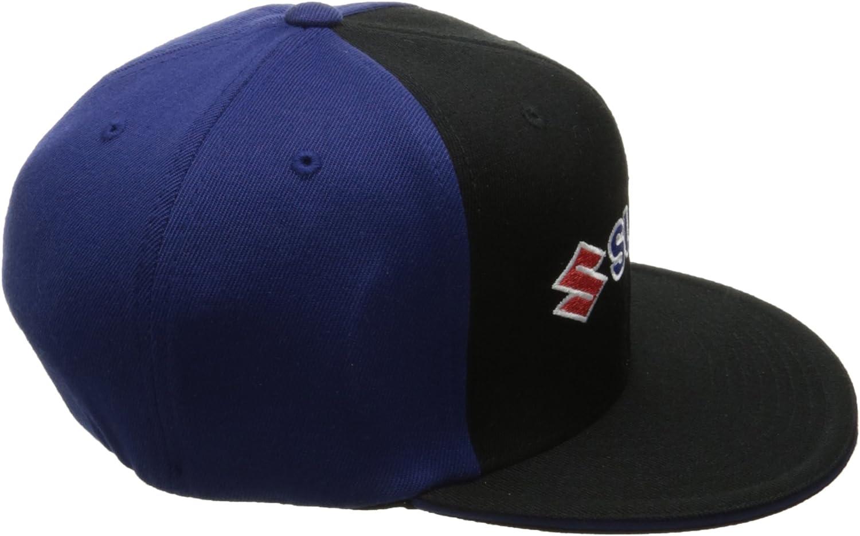Factory Effex 15-88452  Suzuki Flex-Fit Hat Black//Blue, Large//X-Large