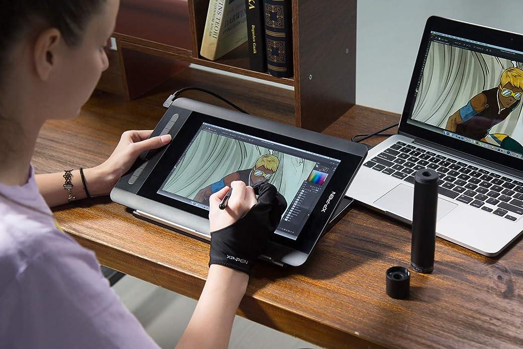 XP-PEN Artist 12 HD IPS Tableta Gráfica - La Mejor Tableta Gráfica del Mercado