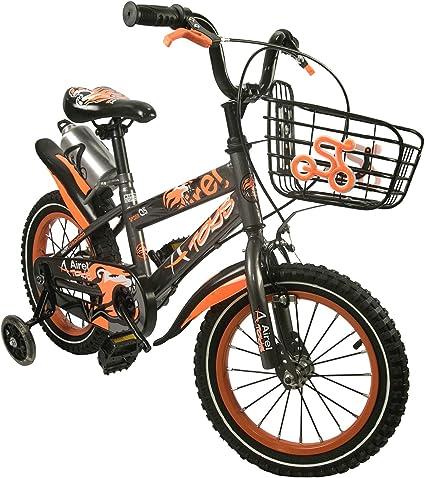 16 Bicicletta per Bambini 14 Bicicletta con rotelle e Cestino Bici Bimba Airel Biciclette per Bambini 18 Pollici Bicicletta per Bambine 3-7 Anni