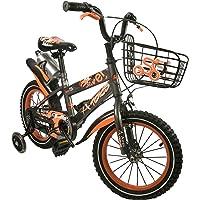 Zerimar Infantiles para niños ruedines y Cesta| Bici