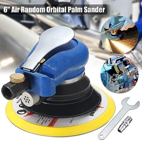 Hand & Power Tool Accessories Tools 1 Set 6 Inches Air Random Orbital Palm Sander For Power Tool Accessories Auto Body Orbit Da Sanding Low Vibration