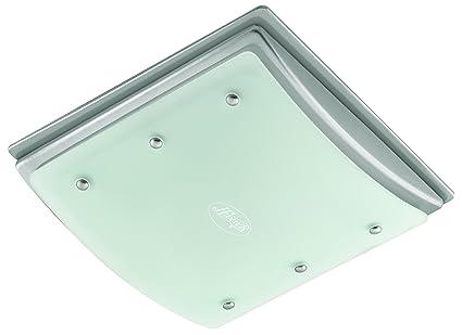 Hunter 90064 Bent Alabaster Glass Bathroom Fan