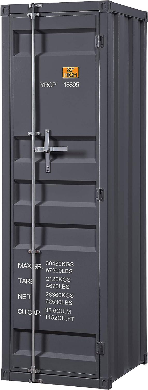ACME Cargo Wardrobe (Single Door) - - Gunmetal