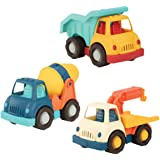 Wonder Wheels by Battat – Dump Truck, Tow Truck, Cement Truck – Toy Truck Combo Set for Toddlers Age 1 & Up (3 Pc) – 100…