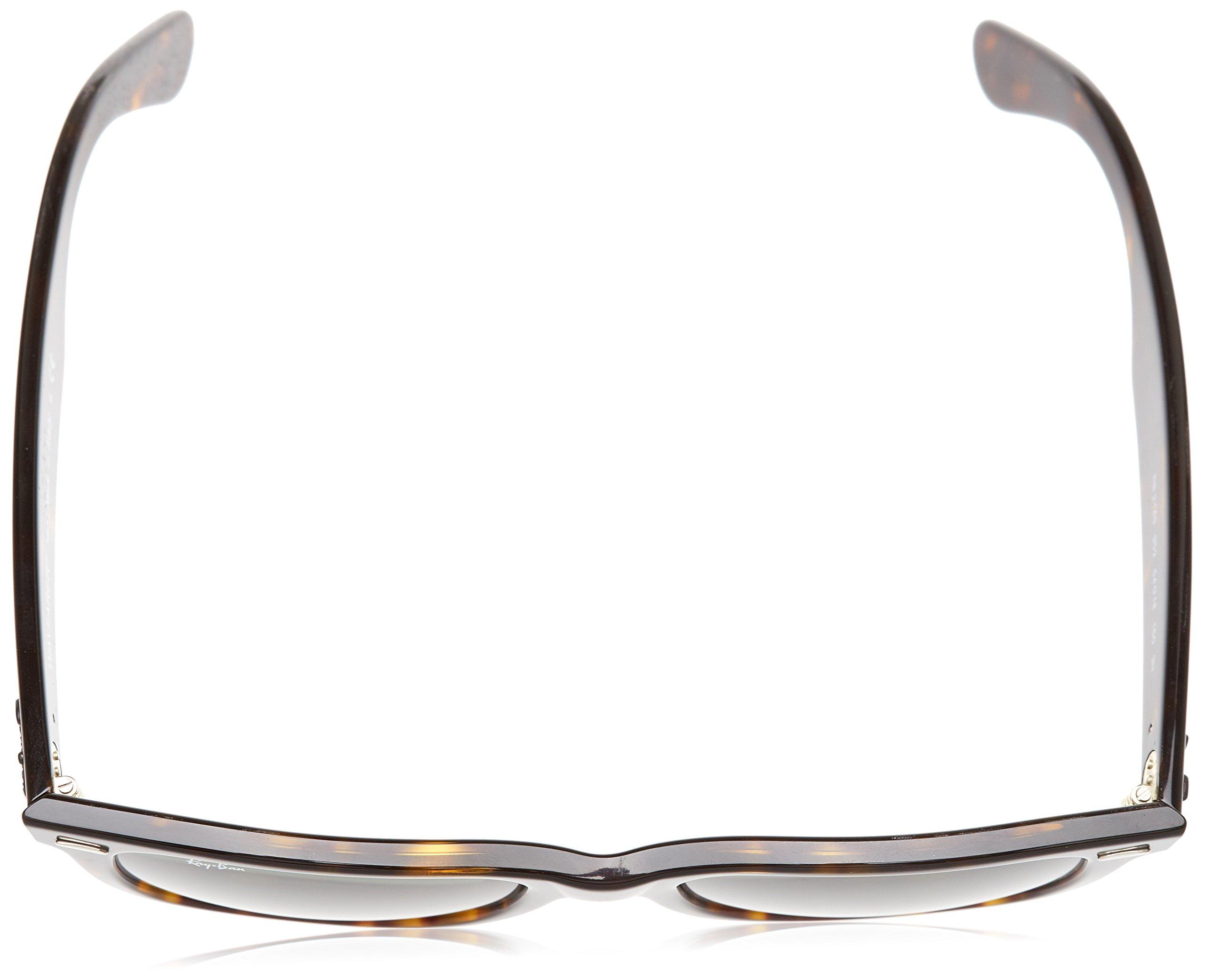 Ray-Ban, RB2140 Original Wayfarer Sunglasses, Unisex Ray-Ban Glasses, 100% UV Protection, Non-Polarized, Reduce Eye Strain, Lightweight Acetate Frame, Prescription-Ready Lenses, 54 mm Frame by Ray-Ban (Image #4)