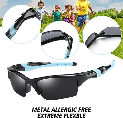 Amazon.com: DUCO K014 - Gafas de sol polarizadas para niños ...