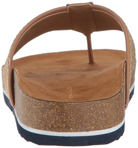 d8d0706e6 Amazon.com  Tommy Hilfiger Women s Giulio Flat Sandal  Shoes