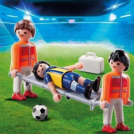PLAYMOBIL - Fútbol Camillerojugad.Lesionad (4727): Amazon.es ...