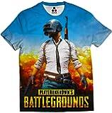 STAND OUT Pubg T-Shirt   Limited Edition   Winner Winner Chicken Dinner   Allover Printed PUBG Gaming T-Shirt   Player Unknown Battlegrounds T-Shirt