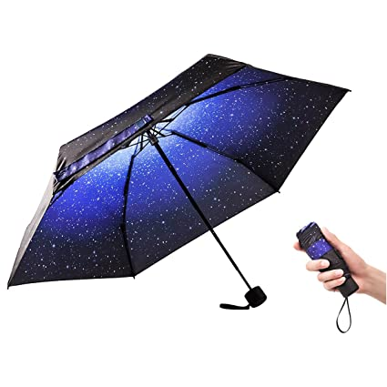 10cc088eb67e Amazon.com: Ke.movan Travel Compact Umbrella Mini Sun & Rain ...