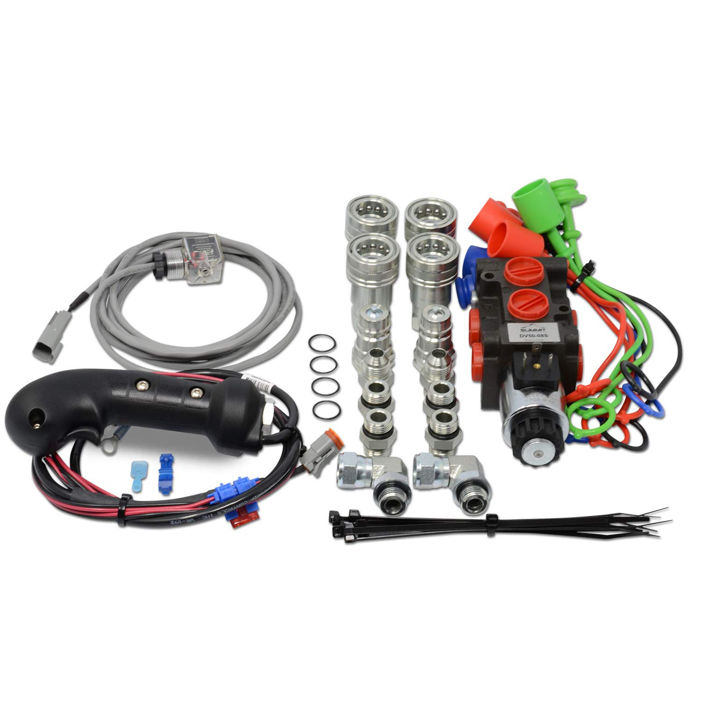 Hydraulic Diverter Selector Valve for John Deere Subcompact Tractors 1025R  1023E 2025R 2032R