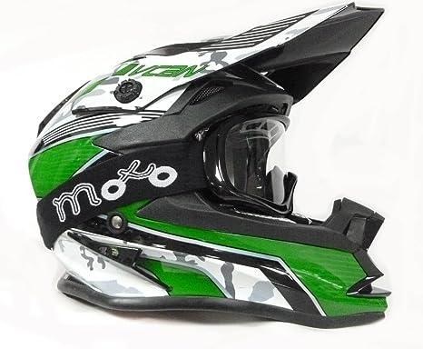 Cascos Moto: V-CAN V321 FORCE Casco de Motocross Carreras Casco de Moto Cross