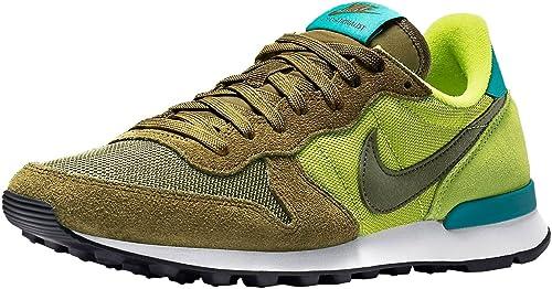 Nike Internationalist Verde Militar de Mujer, Zapatillas Deportivas, Bambas, 41: Amazon.es: Zapatos y complementos
