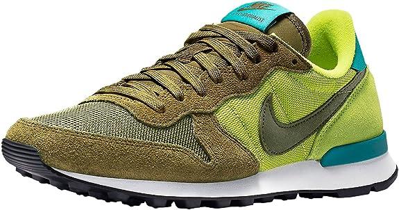 un poco Plata Paloma  Nike Internationalist Verde Militar de Mujer, Zapatillas Deportivas,  Bambas, 41: Amazon.es: Zapatos y complementos