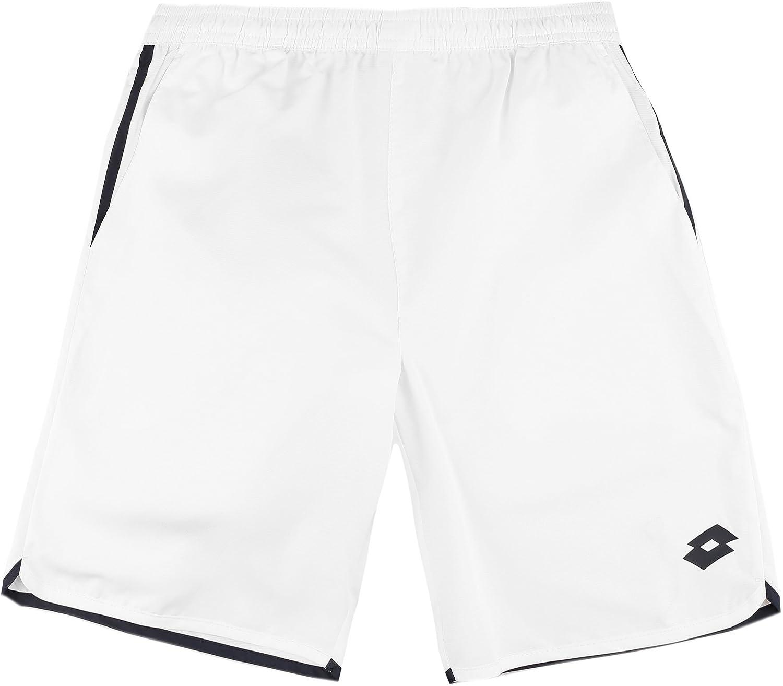 Lotto AYDEX IV Short - Pantalón Corto, Hombre, Blanco(Wht/NVY ...