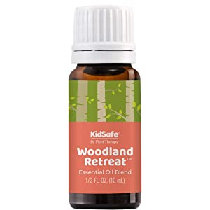 Plant Therapy KidSafe Woodland Retreat Essential Oil Blend 10 mL 100% Pure, Undiluted, Therapeutic Grade