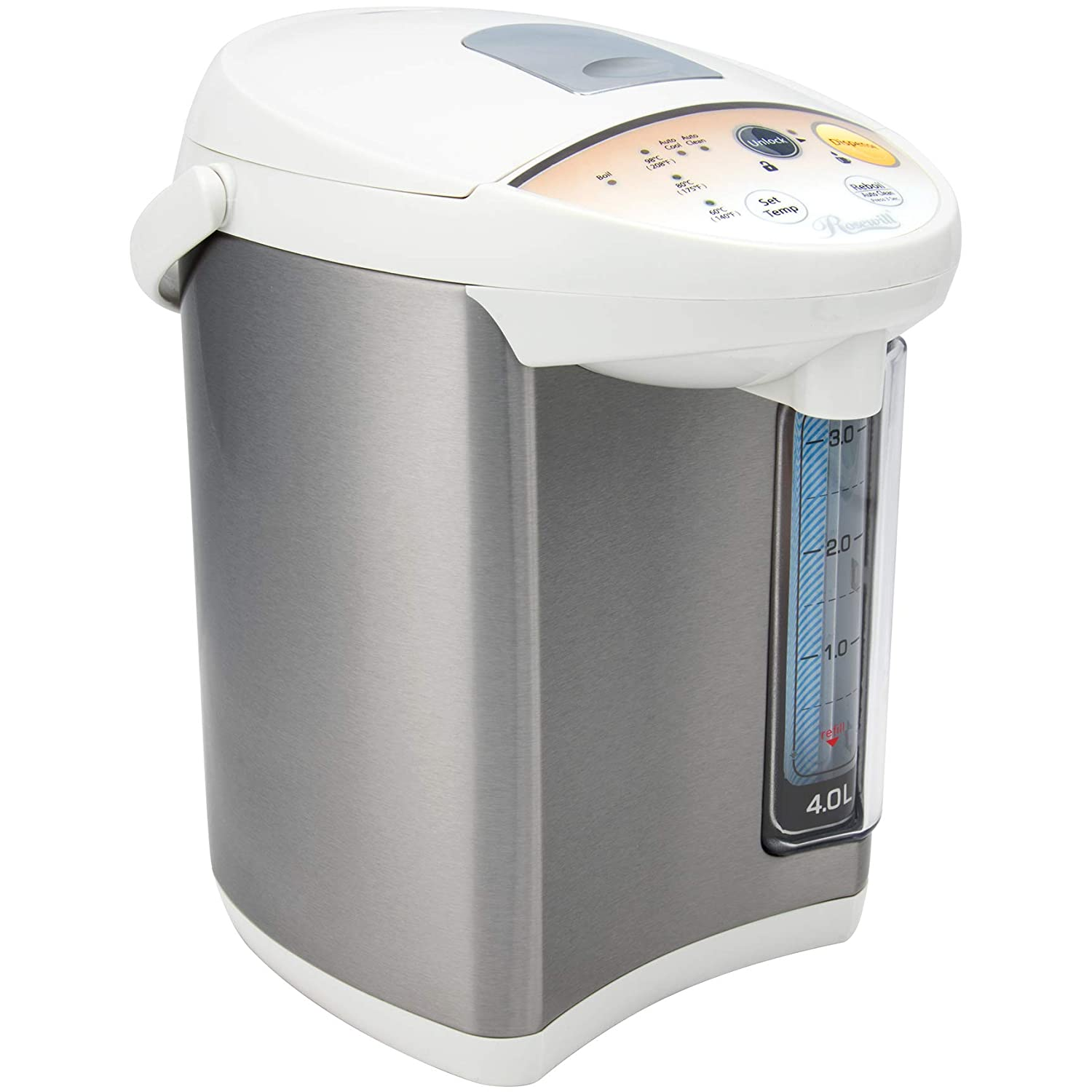 Rosewill RHAP-16001-1 Gallon Electric Water Warmer, Boiler and Dispenser (4.0 L)