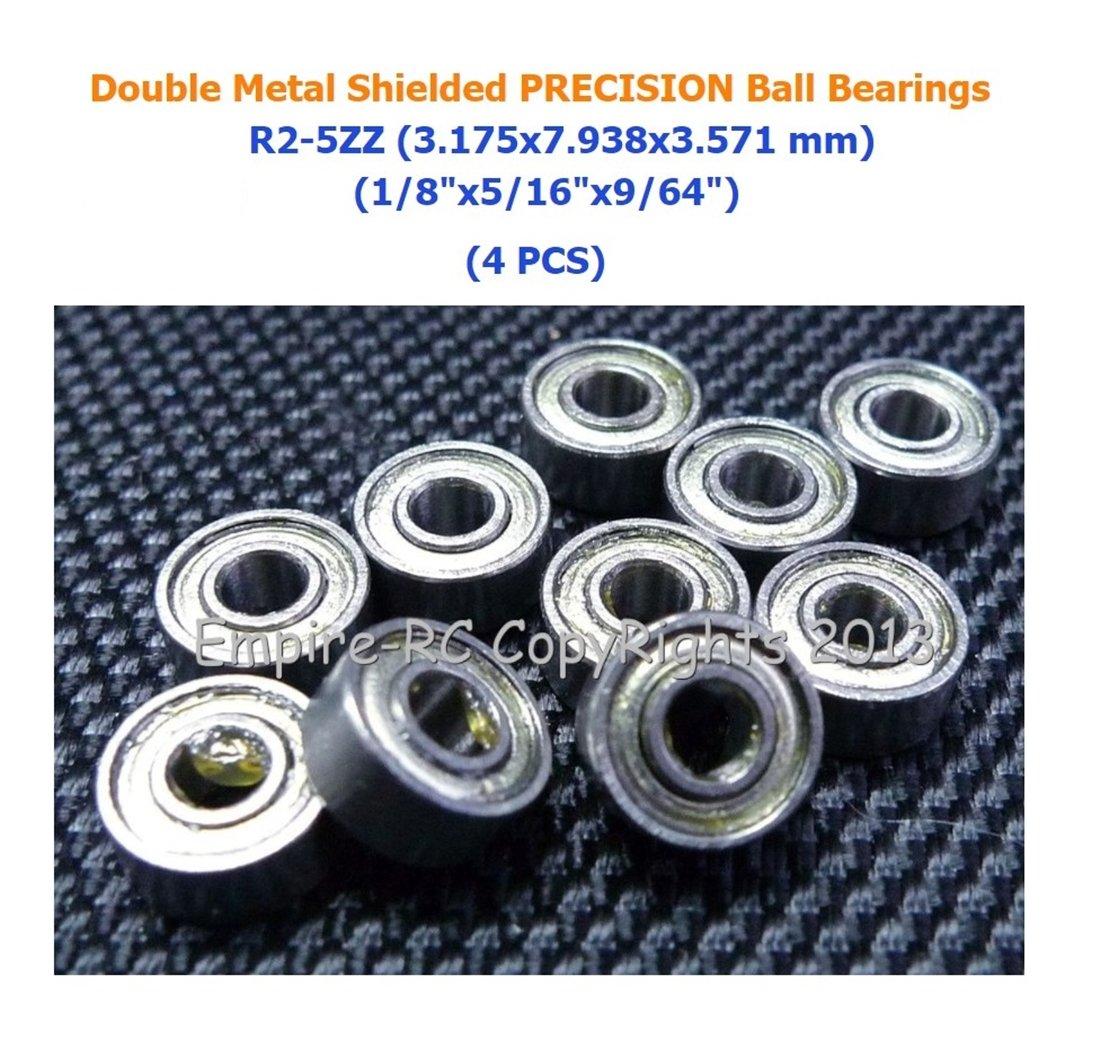 10 PCS MR148ZZ Metal Double Shielded Precision Ball Bearing MR148Z 8x14x4 mm
