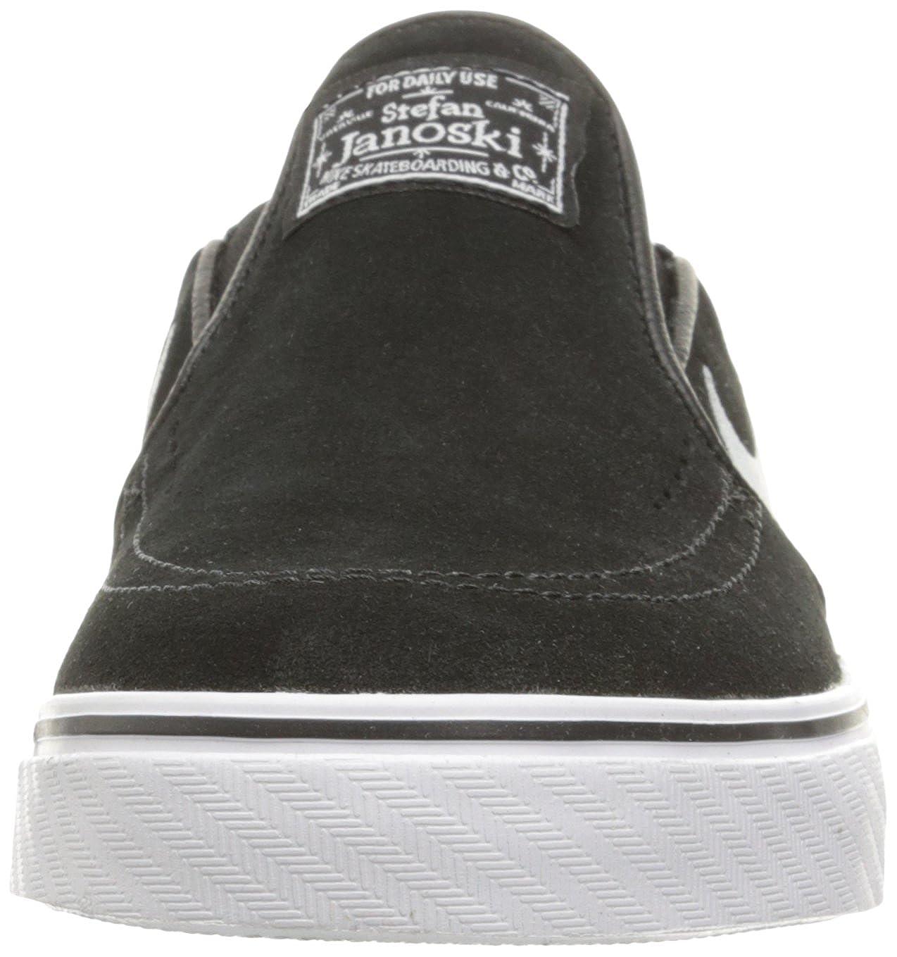 779e8917 Amazon.com | Nike Men's Zoom Stefan Janoski Slip Black/White Skate Shoe 9  Men US | Fashion Sneakers