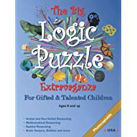 The Big Logic Puzzle Extravaganza for Gifted & Talented Children: Ages 9 and up