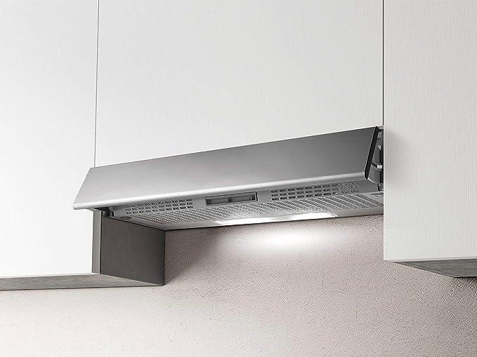 Campana extractora de cocina de 60 cm de profundidad y 30 cm de acero inoxidable GR-FR.IX/F/60: Amazon.es: Grandes electrodomésticos