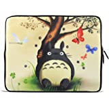 """ToLuLu® Totoro 12.5"""" 13"""" 13.3"""" inch Notebook Laptop Case Sleeve Carrying bag for Apple Macbook pro 13 Air 13/ Samsung 900X3 530 535U3/Dell XPS 13 Vostro 3360 Latitude E6230/ ASUS UX32 UX31 U36 X35 /SONY SD4 13/ ACER 13/ThinkPad X1 L330 E330"""