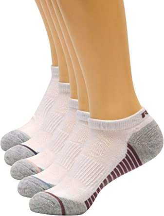 Amazon.com: RBX Active Women's Basics 6-Pack Cushioned Low Cut Athletic  Casual Everyday Socks White/Grey Multi 9-11: Clothing