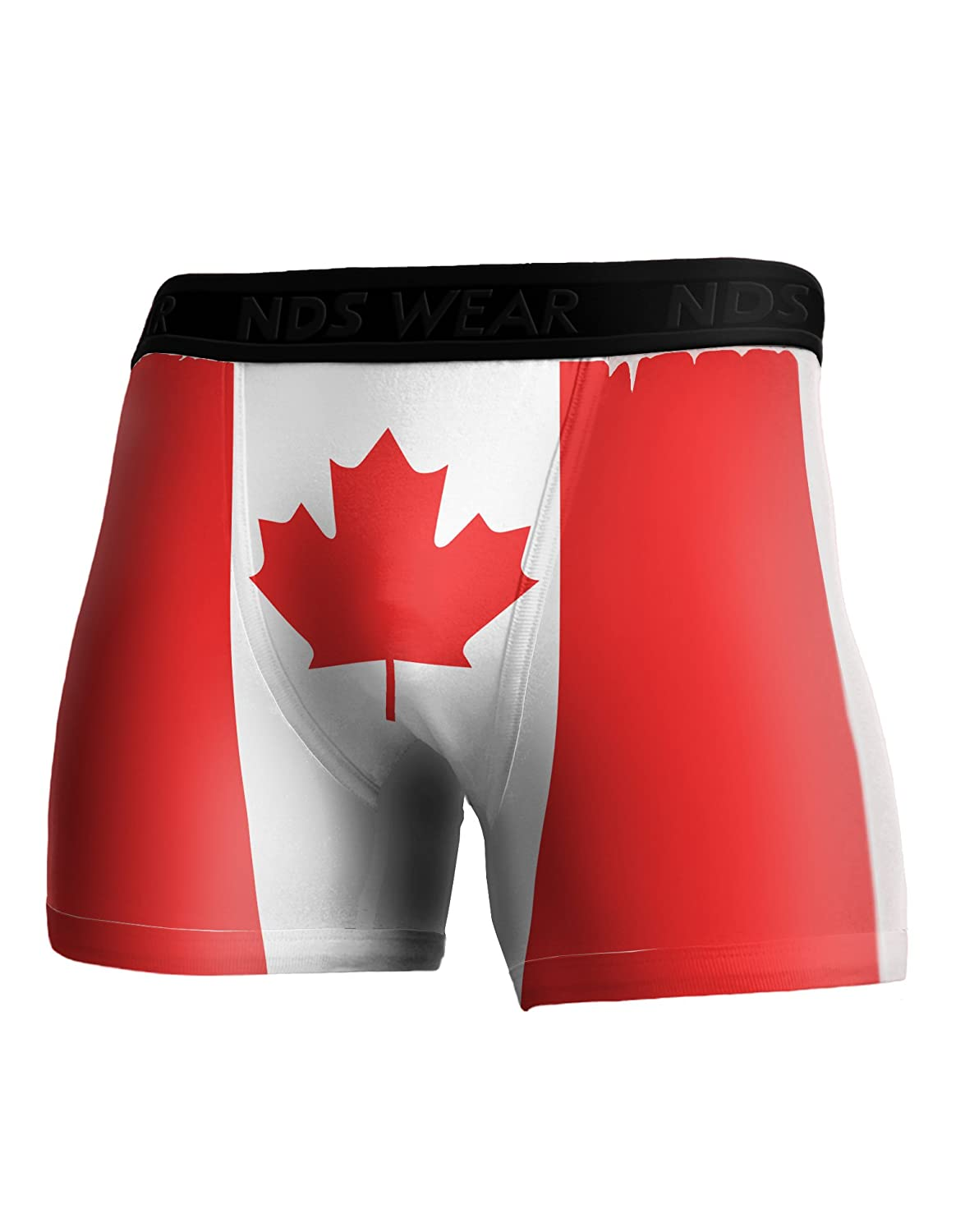 TOOLOUD Canadian Flag All Over Boxer Brief Single Side All Over Print