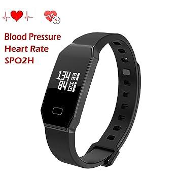 Pulsera Actividad de HOMESTEC, Pulsera Inteligente Impermeable Smart Bracelet Smartband Wristband Fitness Tracker OLED Táctil