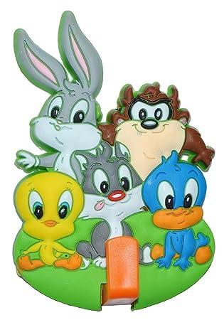 Kleiderhaken clipart  Garderobenhaken - Looney Tunes Bugs Bunny Tweety - für Kinder ...
