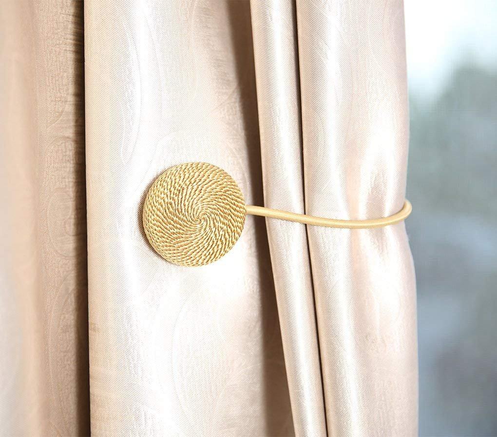 Manfore 2 Stucke Magnetische Vorhang Raffhalter Magnet
